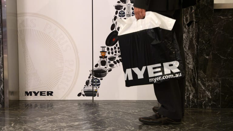 One likely victim is department store and brand aggregator Myer.