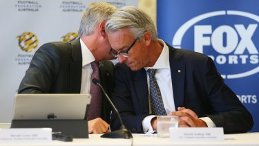 Under pressure: But David Gallop is confident he can oversee FFA reform before FIFA carry out their threat to intervene.
