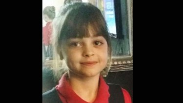 Saffie Roussos, eight, died in the Manchester bombing.