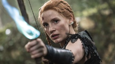 Jessica Chastain in <i>The Huntsman: Winter's War</i>.