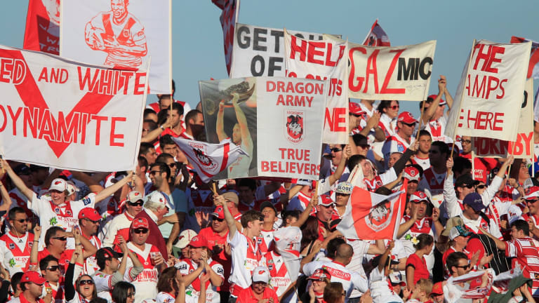 Dragons supporters could have been cheering their team in the finals if Manly had been sanctioned earlier.