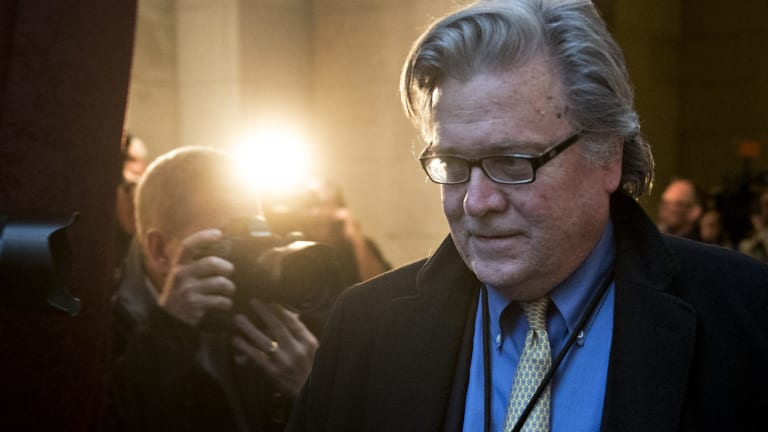Ousted from NSC principals commitee: Steve Bannon, chief strategist for Donald Trump.