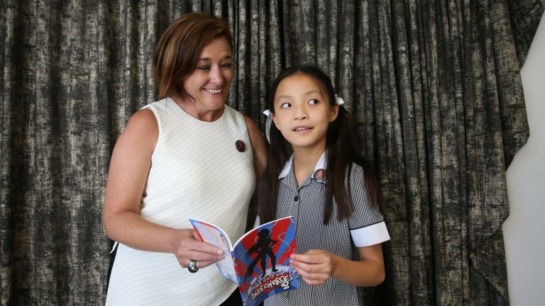 Emma Yap with Dr Jenine Beekhuyzen, founder of the Tech Girl movement.