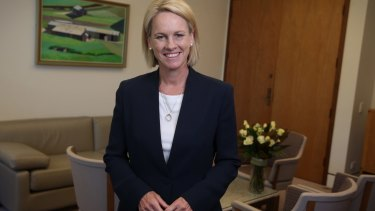 Fiona Nash believes the Furnival affair made her a tougher operator.