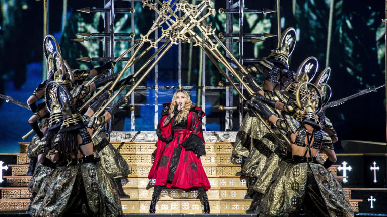 It will take three Boeing 747s to bring all Madonna's equipment to Australia for her Rebel Heart tour.