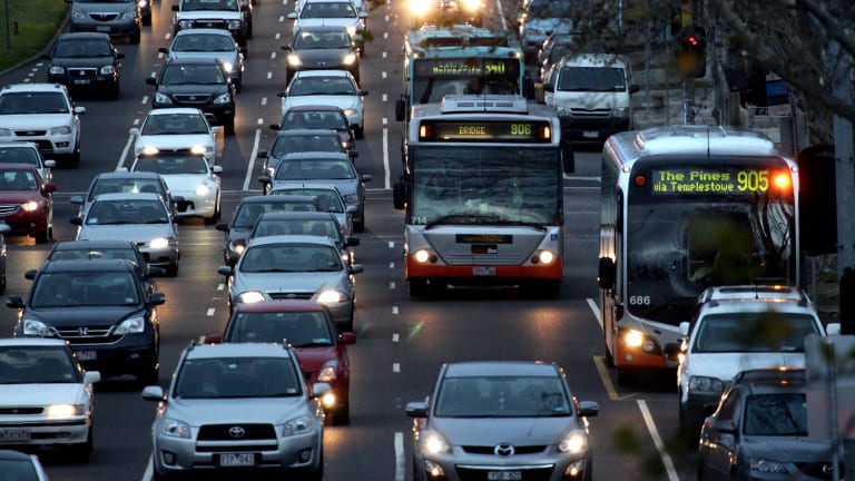 Hoddle Street is set for an overhaul, including new bus lanes and an on-street parking ban.
