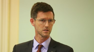 Queensland Road Safety Minister Mark Bailey.