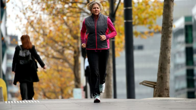 Exercise physiologist Dr Vanessa Rice says  poor running technique will put extra strain on  joints.