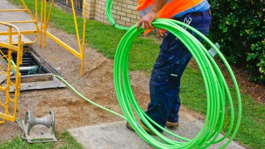 Bill Morrow says fibre to the premises would cost an extra $10 billion.