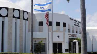 A Jewish Centre in Miami, which faced a bomb threat in May 2016.