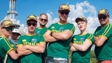 The Australian Hide and Seek team.