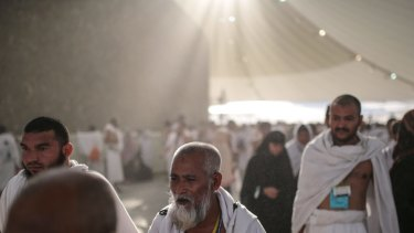 Muslim pilgrims at the annual Haj in Saudi Arabia, where temperatures may one day be too hot for humans.