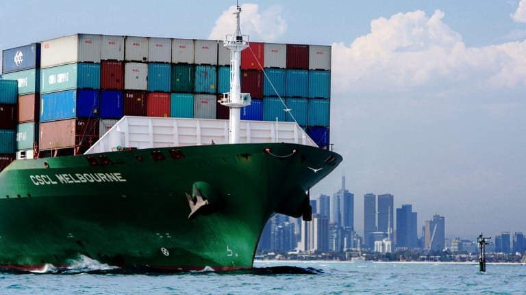Australia's trade deficit narrowed by more than expected in January.