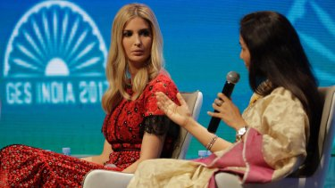 Ivanka Trump is the headline act at the Global Entrepreneurship Summit in Hyderabad.