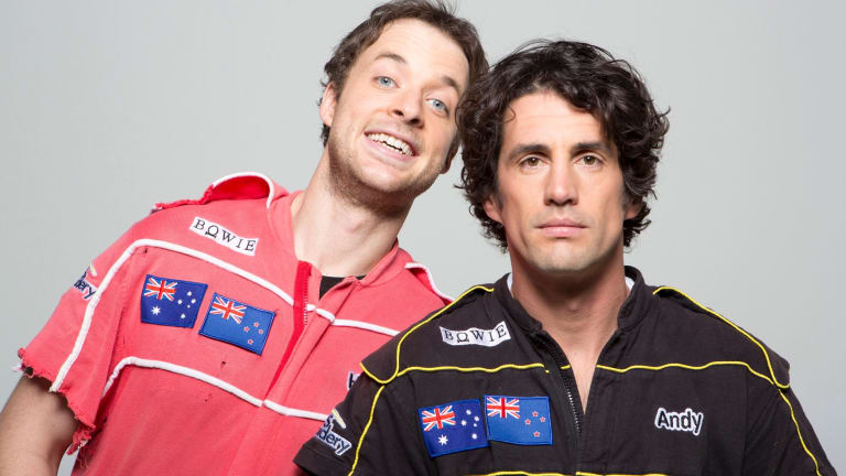 Comedians Hamish Blake and Andy Lee have been signed by Southern Cross Austereo.