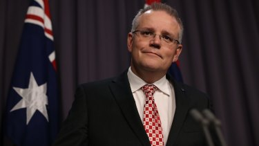 Scott Morrison believes the states are perfectly capable of fixing their own financial problems.