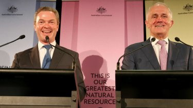 Christopher Pyne and Malcolm Turnbull reveal their innovation plans.