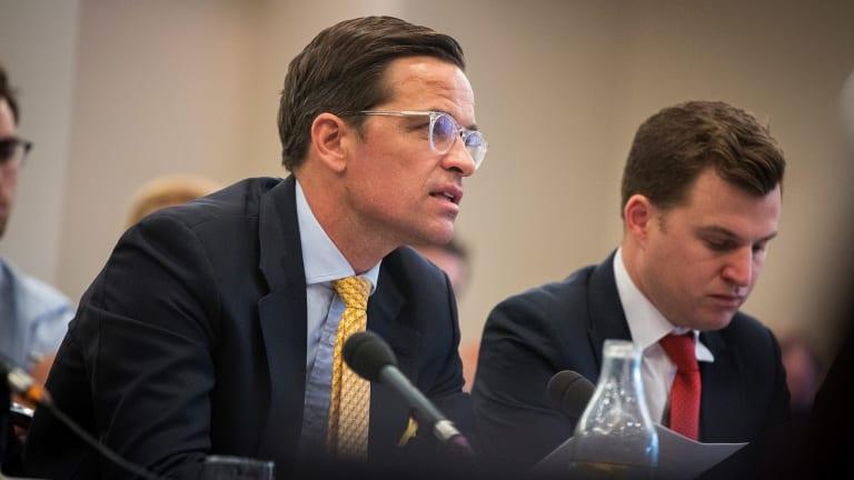 Alibaba director of business development Australia and New Zealand, John O'Loghlen.