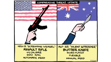 Armed teachers: It's so logical: more guns mean a safer world for all