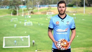 New Sydney FC signing Joshua Brillante.