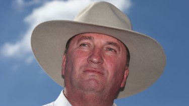 Deputy Prime Minister Barnaby Joyce  refused to revel in the relationship woes of his 'nemesis' Johnny Depp.