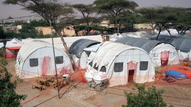 The Red Cross Red Crescent cholera treatment centre in Somaliland.