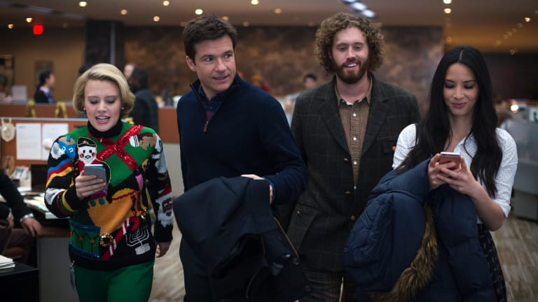 Kate McKinnon, Jason Bateman, T.J. Miller and Olivia Munn work at a New York IT branch.