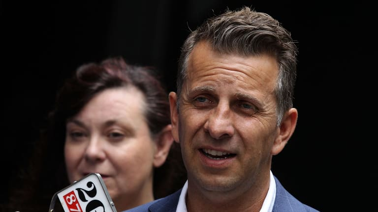 Transport Minister Andrew Constance says on-demand shuttles will transform daily commuting habits.
