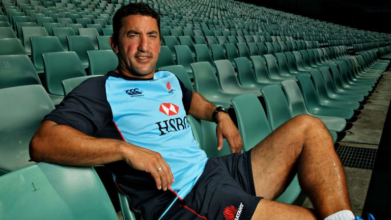 Sitting pretty: Daryl Gibson is expected to be named the new Waratahs coach.