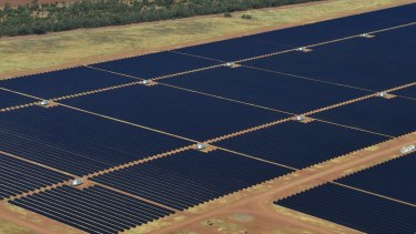 The Nyngan solar plant near Dubbo, NSW, built by AGL with government help, got the ball rolling on large-scale solar plants.