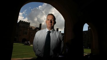 "Sydney University vice-chancellor Dr Michael Spence wants to ensure ""we are a place that is genuinely open to all""."