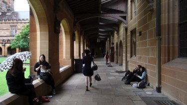 Sydney University plans to work on regaining its former preeminence and getting back to the top of the league tables.