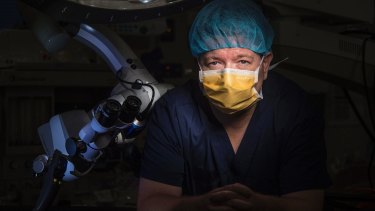 An American surgeon who says he was bullied, harassed and discriminated against when he tried to have his skills recognised in Australia.