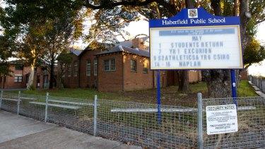 Haberfield Public School.