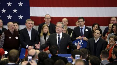 Republican presidential candidate Jeb Bush in New Hampshire last week.