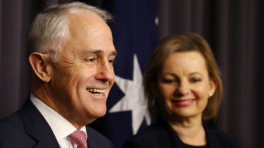 Prime Minister Malcolm Turnbull and Health Minister Sussan Ley.