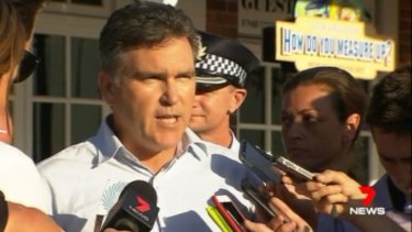 Dreamworld CEO Craig Davidson addressed the media some hours after the fatal accident.