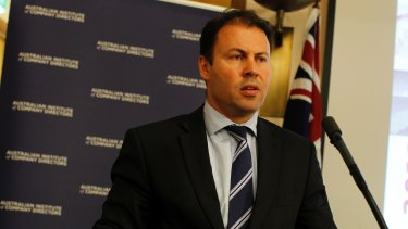 "Warning: Josh Frydenberg says the government is ''very conscious we have a structural deficit and we need to bring spending under control""."