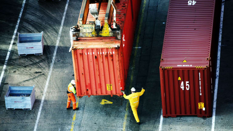 Port of Melbourne is expected to be able to cope with container traffic for another 40 years or so.
