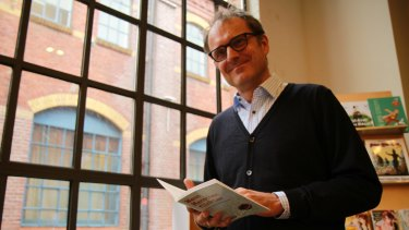 Frank Kuhne, editor at Germany's largest children's book publishers Carlsen.