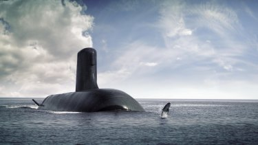 The DCNS Shortfin Barracuda: France has been in a hard-fought contest against Japan and Germany for the contract to help build Australia's new submarines.