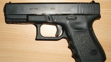 A Queensland Police Service-issued Glock has gone missing from a south-east Queensland police station.