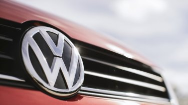 US-listed shares of Volkswagen rose nearly 6 per cent to $US30.95 following the news.