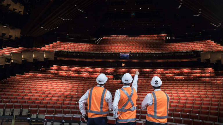The improvements to the theatre have cost $71 million.