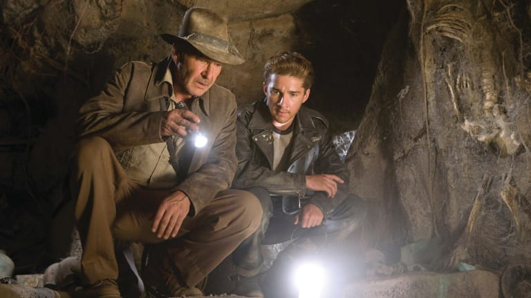 Joan Howard has been dubbed 'Indiana Joan' after Harrison Ford's long-running character, pictured, with Shia LaBeouf in <i>Indiana Jones and the Kingdom of the Crystal Skull</i>.