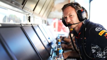 Red Bull Racing Team Principal Christian Horner had his two drivers at war after the Hungarian Grand Prix on Sunday.