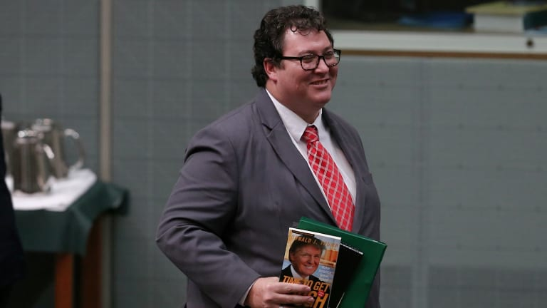 Nationals MP George Christensen supported his colleagues' stance.