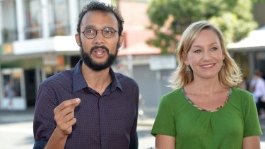 The Gabba's Greens councillor Jonathan Sri (pictured with Senator Larissa Waters) has defended living in an illegal share house.
