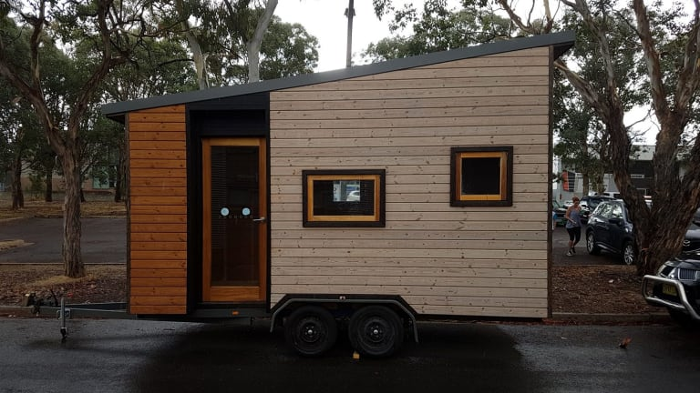 This tiny house stolen from Canberra, owned by business owner Julie Bray, was found in Queensland less than a day later.
