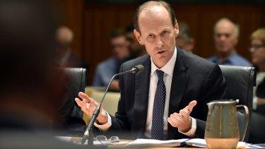 ANZ chief executive Shayne Elliott got down and dirty in Tasmania.